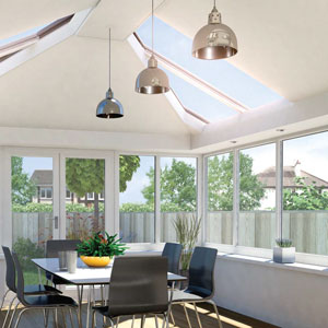 Ultraframe LivinROOF conservatory roof